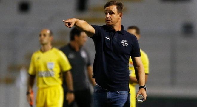 Felipe Conceição chegou ao Bragantino em janeiro de 2020