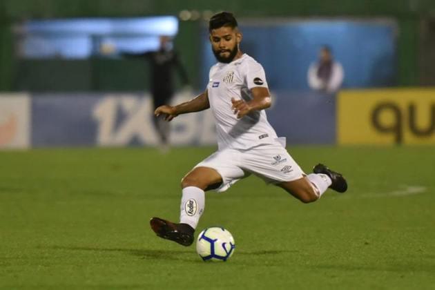 Felipe Jonatan (22) - Santos - Valor atual: 3 milhões de euros - +100% - Diferença: 1,5 milhões de euros