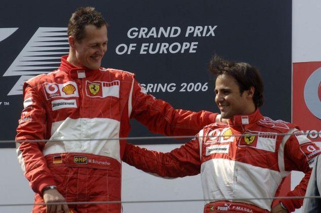 Felipe Massa conseguiu seu primeiro pódio com o time no GP da Europa de 2006