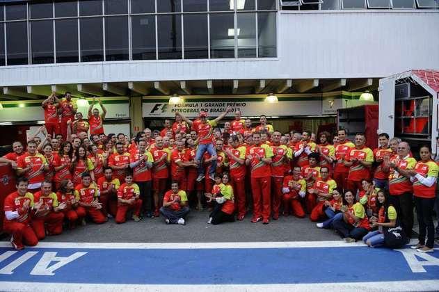 Felipe Massa se despediu da Ferrari em 2013, recebendo extensa homenagem