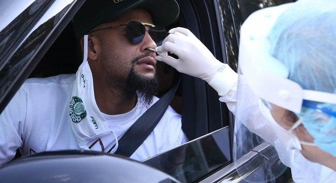 Palmeiras manterá a rotina de exames. Fará terça e sexta-feira, antes das finais