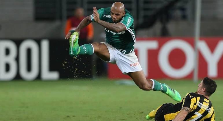 Felipe Melo lutou, brigou, conquistou. Entregou a alma para o Palmeiras. Saída deprimente