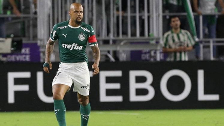 Felipe Melo - 37 anos - Clube atual: Palmeiras (Grupo A)
