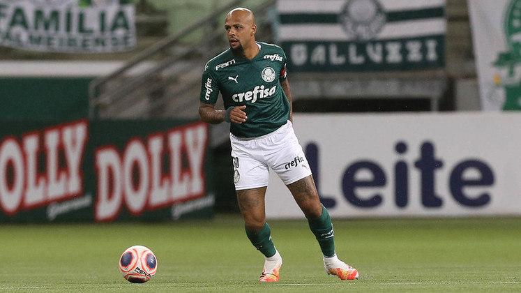 Felipe Melo (37 anos) - Volante do Palmeiras
