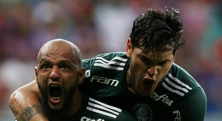 Felipe Melo e Gustavo Gómez. Recuperações surpreendentes. Encaminhados para o Maracanã