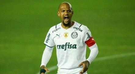 Felipe Melo completou 200 jogos pelo Palmeiras