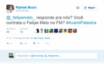Felipe Melo, Twitter, Football Manager