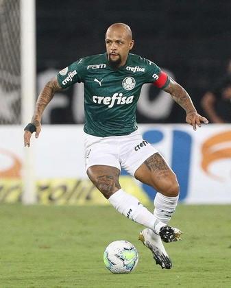 Felipe Melo (volante) - quatro jogos e zero gols