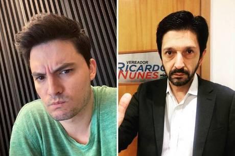 Felipe Neto e Ricardo Nunes se enfrentam judicialmente