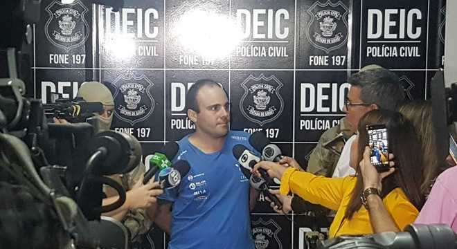 Felipe foi preso em Goiás procurado por ter envolvimento na morte de líder do PCC no Ceará