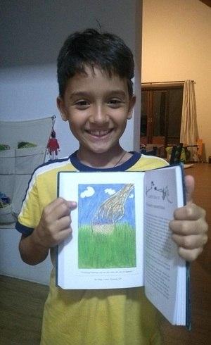 Felipe e sua ilustração
