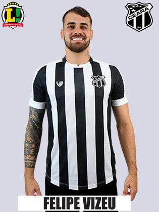 Felipe Vizeu: 5,5 - O atacante não conseguiu converter as chances em gol e foi substituído no segundo tempo