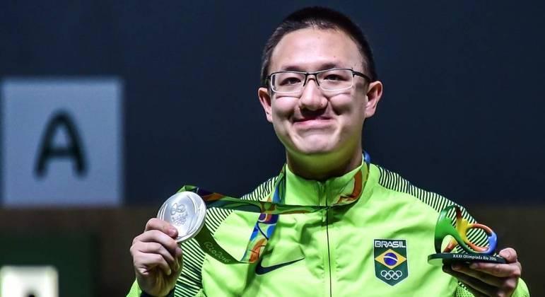 Felipe Wu, Rio/2016, a última medalha do Brasil, e de prata, num primeiro dia,
