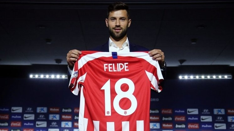 Felipe - zagueiro - 31 anos - atualmente defende o Atlético de Madrid, da Espanha.