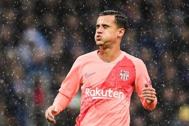 FELIPPE COUTINHO - O brasileiro já não estava nos planos do clube, mas estar vestindo a camisa do Bayern justamente contra o Barcelona na tragédia de Lisboa, e ainda ter feito dois dos 8 gols?!? Definitivamente, não tem mais clima.
