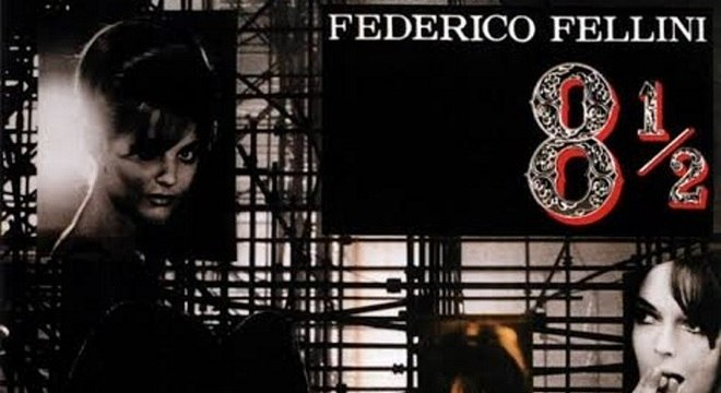 O filme 8 ½ é um dos grandes destaques da carreira de Fellini