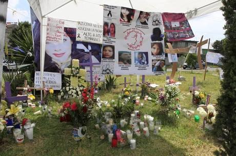 133 mulheres foram assassinadas no México, em janeiro