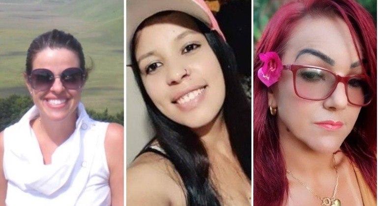 Viviane, Thalia e Anna Paula perderam a vida vítimas de maridos violentos