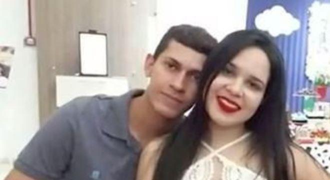 Pedro Henrique e Paloma, que estava grávida de três meses