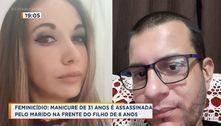 Feminicídio: mulher é assassinada pelo marido na frente do filho