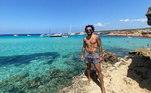 Marcelo aproveita o verão enquanto o Real Madrid não volta ao trabalho na Espanha