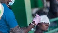 Haiti: terremoto deixa hospitais lotados de pessoas feridas