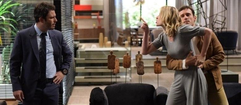Fernanda acusa Tobias de ter armado a morte de Luciana