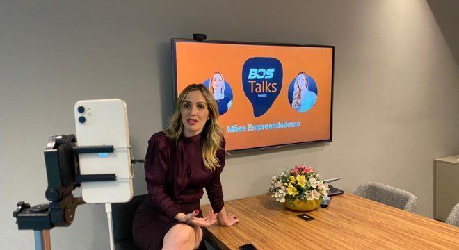 Fernanda Delboni, mentora do Batalha das Startups, no BDS Talks