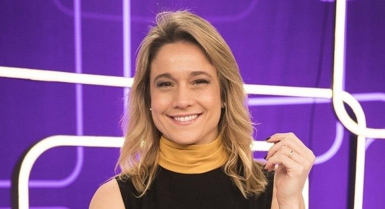 Fernanda Gentil vai estrear em outubro  nos domingos da Globo