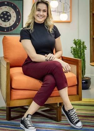 Fernanda Gentil vai estrear nos domingos da Globo