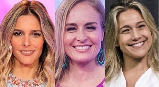 Fernanda Lima, Angélica e Fernanda Gentil estão sem programa na Globo