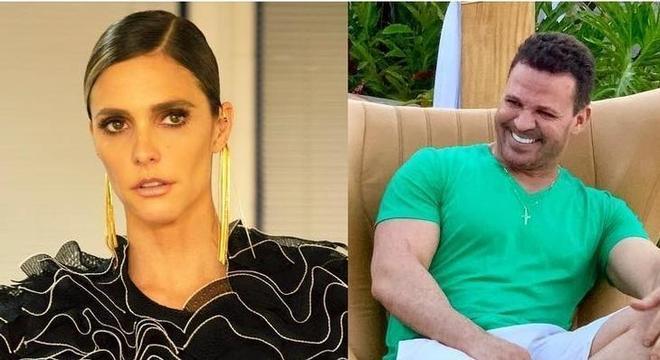 Fernanda Lima e Eduardo Costa se estranharam publicamente