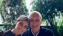 Fernanda Lima agradece médicos após morte do pai por covid-19