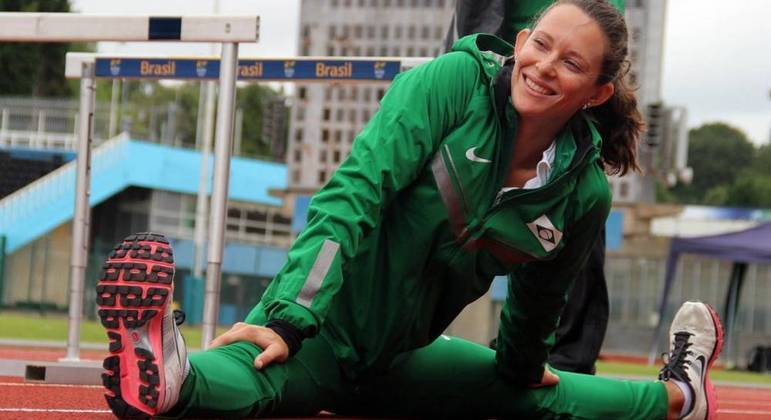 Fernanda Murer conquistou duas vezes o Campeonato Mundial de Atletismo