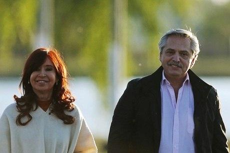 Fernández e Kirchner tem 50% das intenções de voto