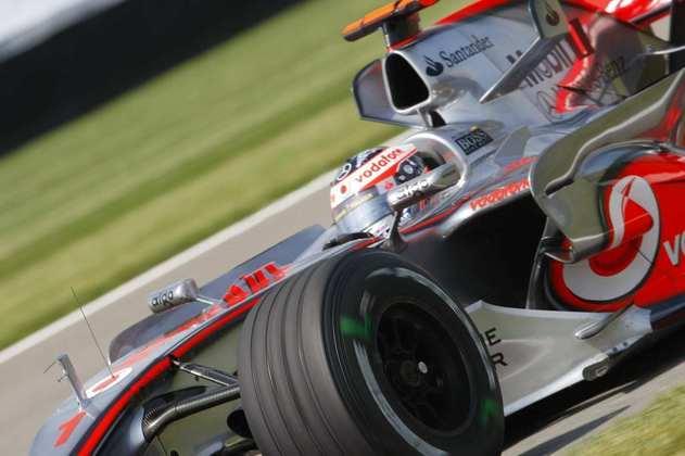Fernando Alonso chegou à McLaren pela primeira vez em 2007