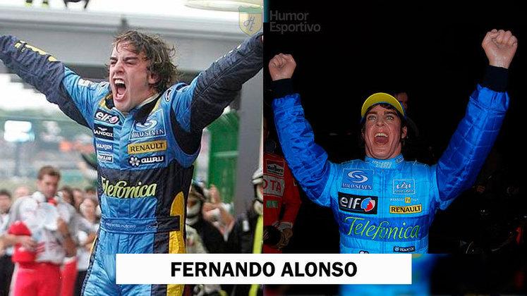 Fernando Alonso já ganhou uma