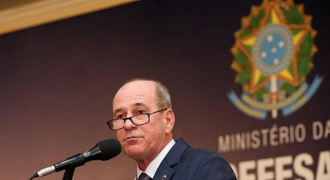 O ministro da Defesa, Fernando Azevedo