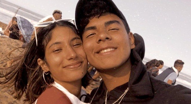 Fernando Báez Sosa e a namorada Julieta Rossi