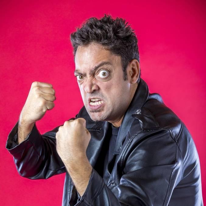 O ator e roteirista Fernando Caruso, do humor da Globo