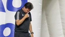 Diniz assume que rendimento caiu após eliminação na Copa do Brasil