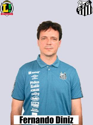 Fernando Diniz - 5,0 - No intervalo mexeu no ataque, mas continuou com problema na criação. Demorou para fazer a segunda troca e poderia ter buscado outras alternativas, como Ângelo.