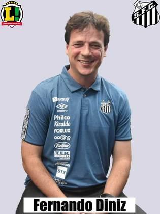 Fernando Diniz - 5,5 - Foi muito conservador na escalação e na postura da equipe. Até na entrada de Marcos Guilherme poderia ter soltado mais o time.