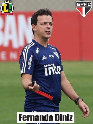 Fernando Diniz - Deixou o São Paulo no início deste ano e agora comanda o Vasco na Série B do Brasileirão.