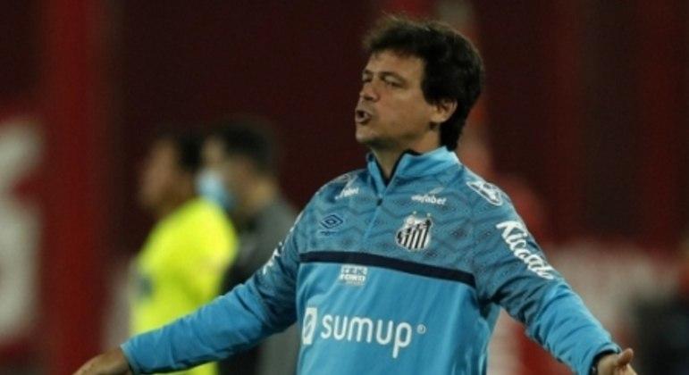Fernando Diniz - Independiente x Santos