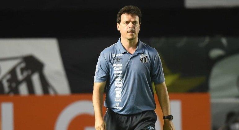 Santos pode chegar a três vitórias seguidas pela primeira vez sob o comando de Diniz