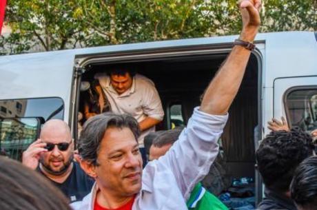 Fernando Haddad cumpre agenda de campanha