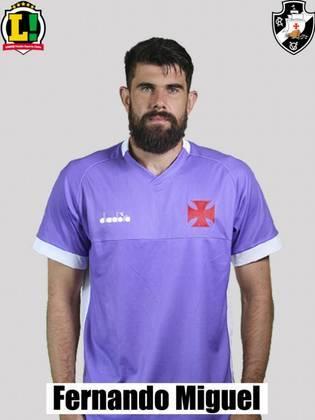Fernando Miguel - 7,0: Fez grandes defesas, uma no primeiro tempo e outra no segundo.