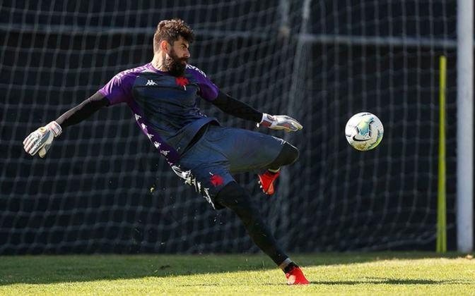Fernando Miguel – goleiro – 36 anos – emprestado ao Atlético-GO até dezembro de 2021 – contrato com o Vasco até dezembro de 2022