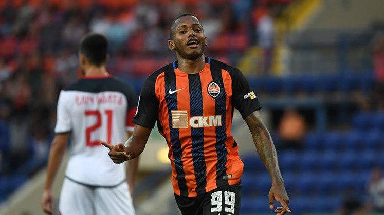 Fernando: o comandante do ataque do Shakhtar Donetsk fez o primeiro gol da equipe no Campeonato Ucraniano, contra o SC Dnipro-1.